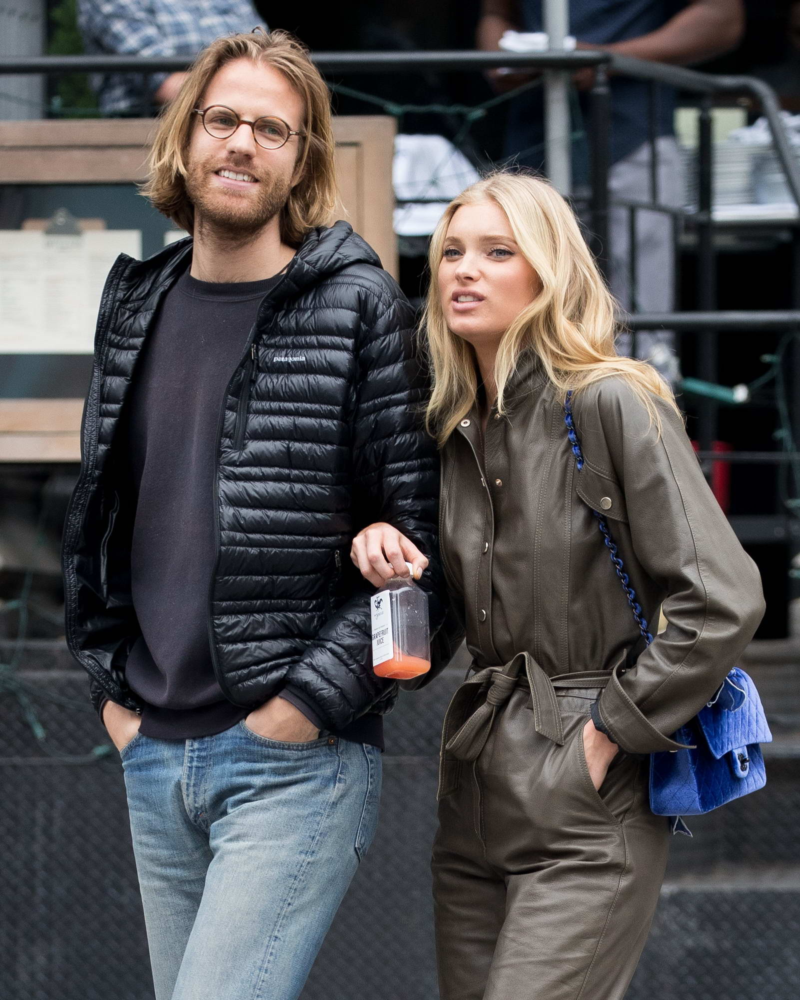 Elsa Hosk and Tom Daly Out and About in New York