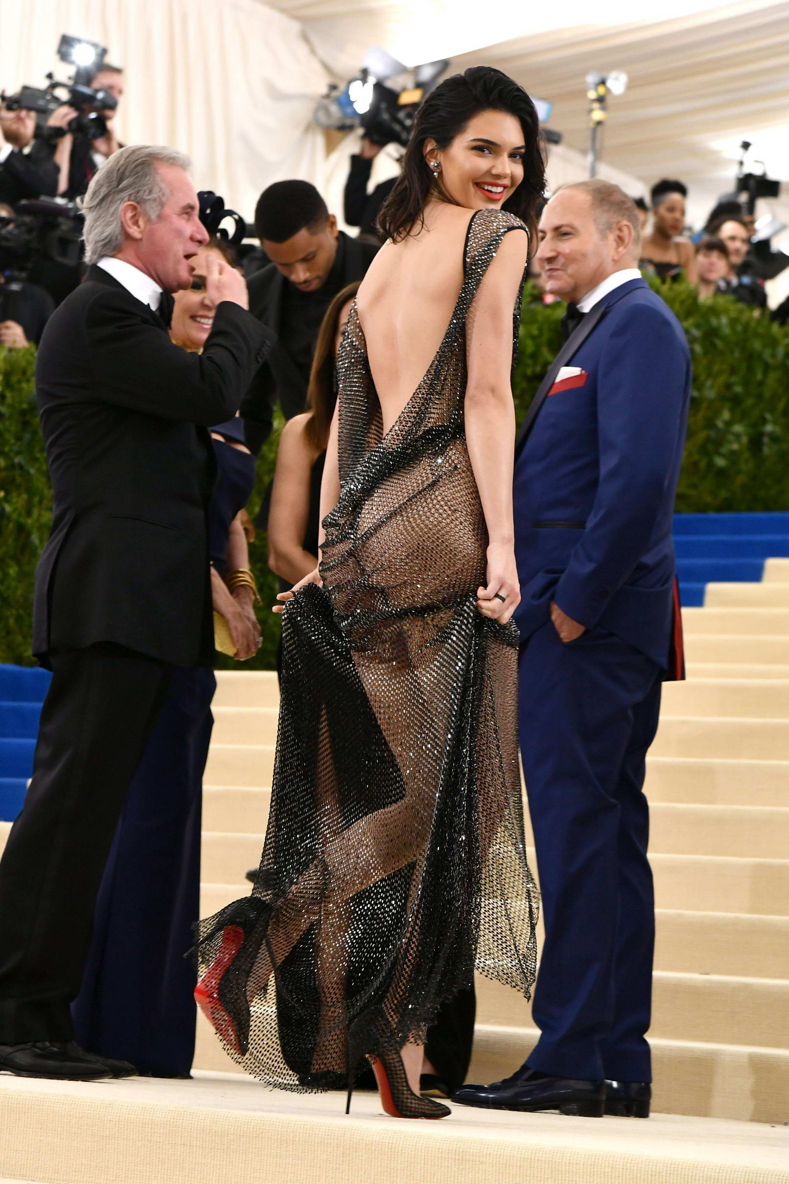 Bella Hadid Ditches Underwear in Sexy Catsuit at Met Gala