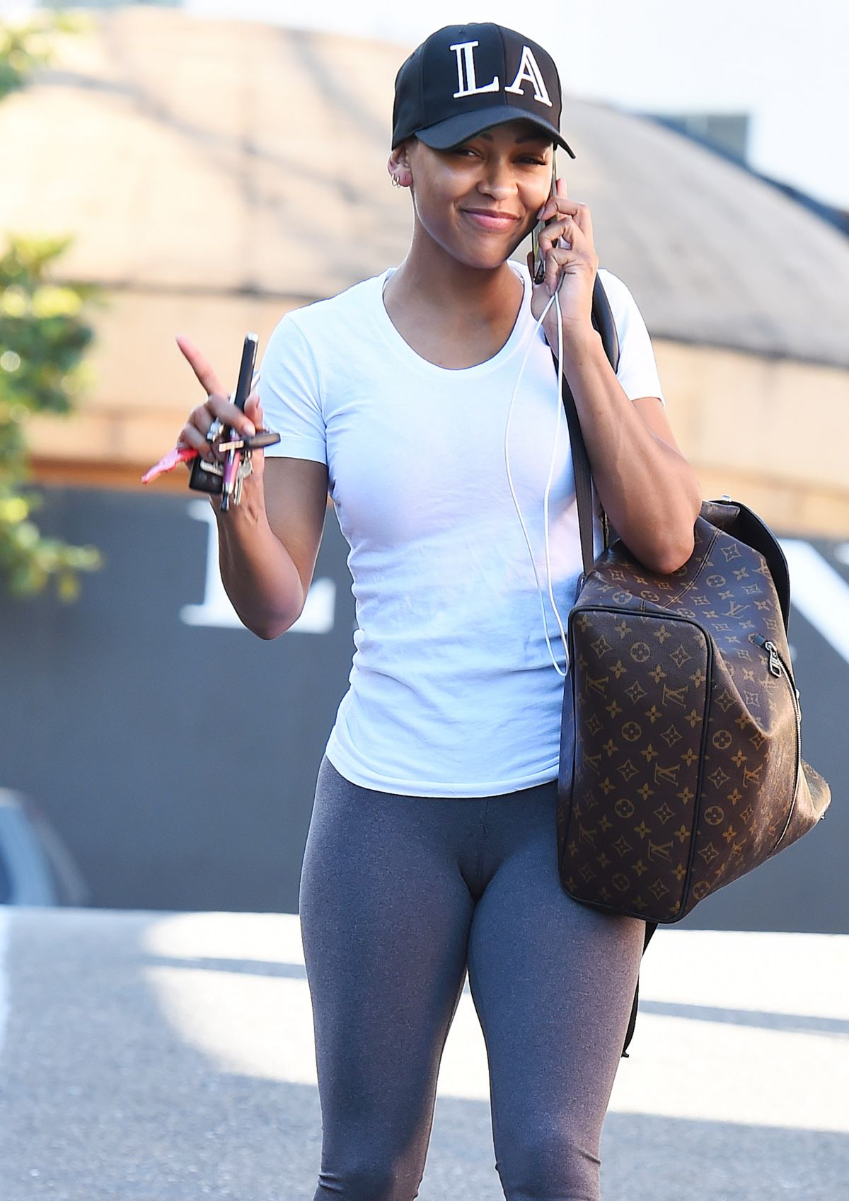 meagan good out and about in west hollywood