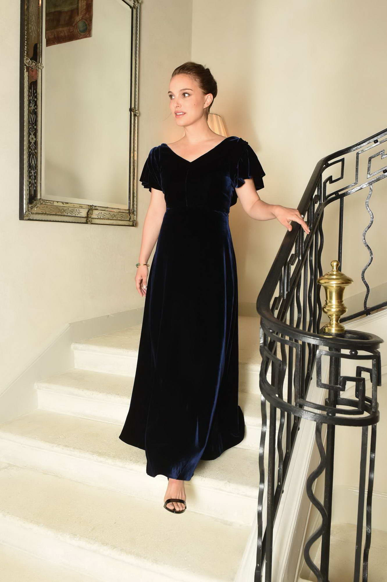 La Colle Noire Dior natalie portman attending the christian dior dinner at