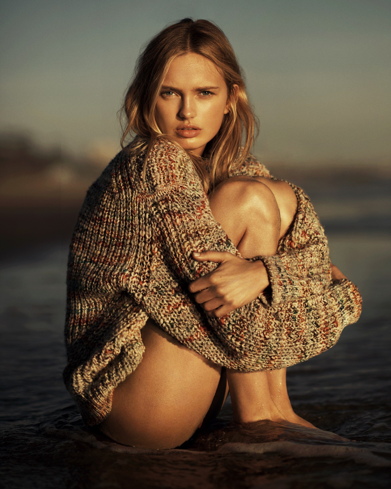 Romee Strijd Vogue Magazine, Netherlands June - 2017