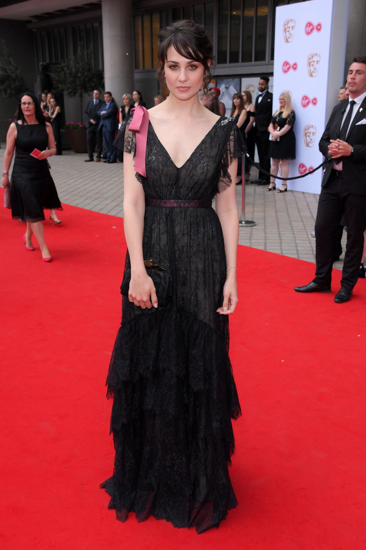 Tuppence Middleton At 2017 Virgin Tv Bafta Television Awards