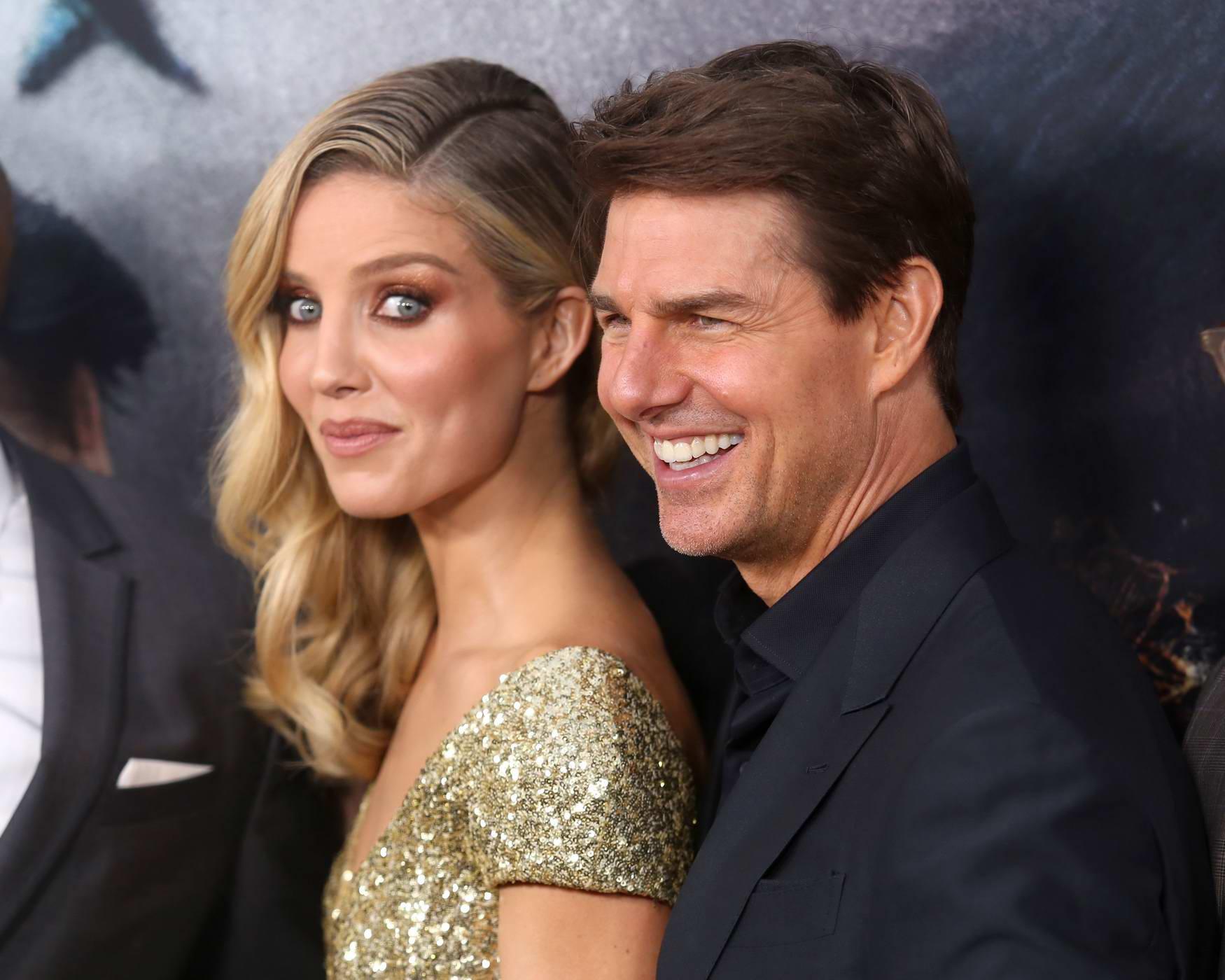 She was sharing how she made Tom Cruise run.
