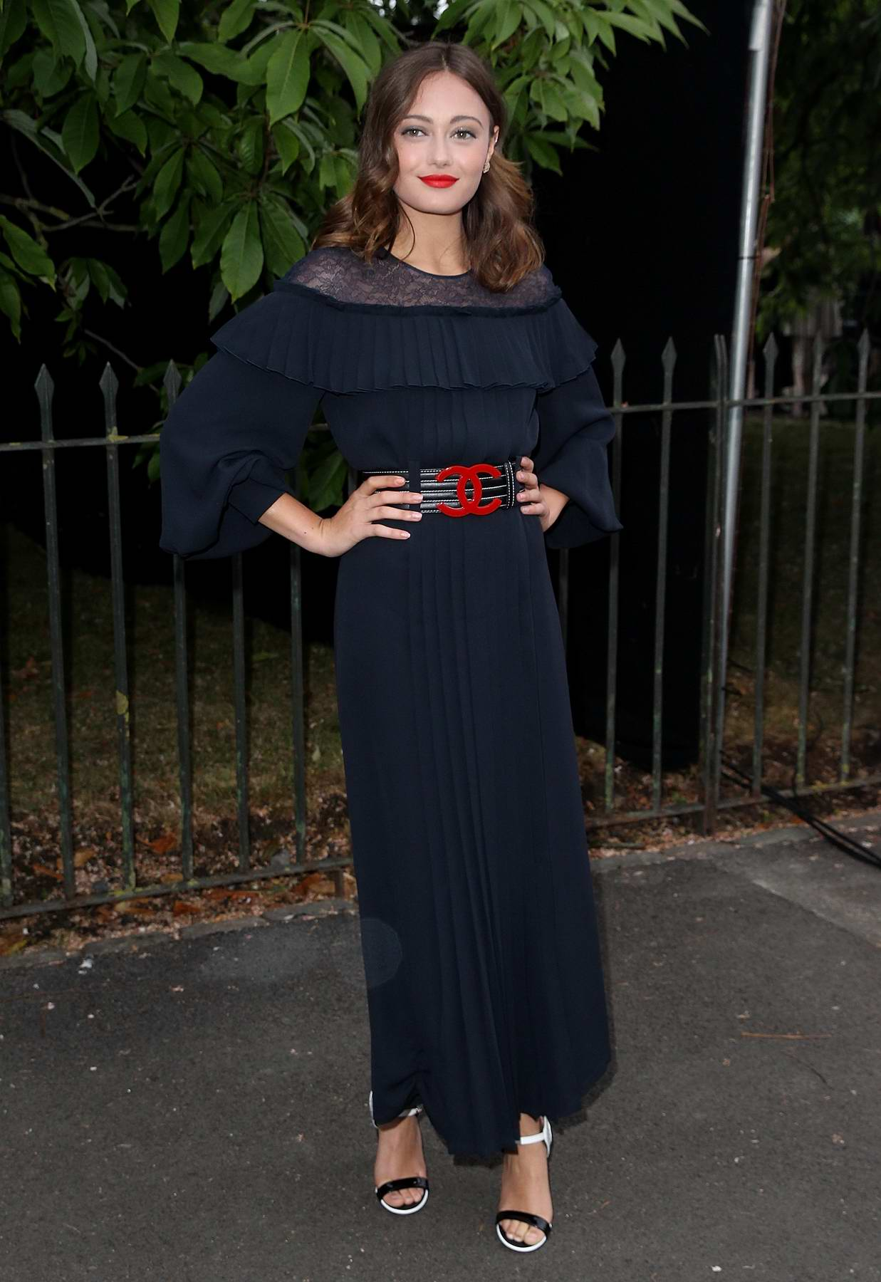 Ella Purnell at the Serpentine Galleries Summer Party in London
