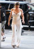 Hilary Duff leaving NBC Studios in New York