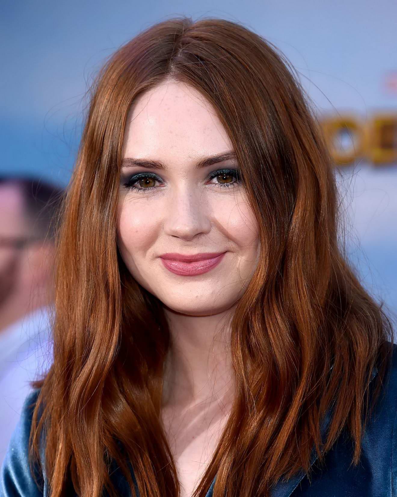 Karen Gillan at Spider-Man: Homecoming Premiere at TCL Chinese Theatre in Los Angeles
