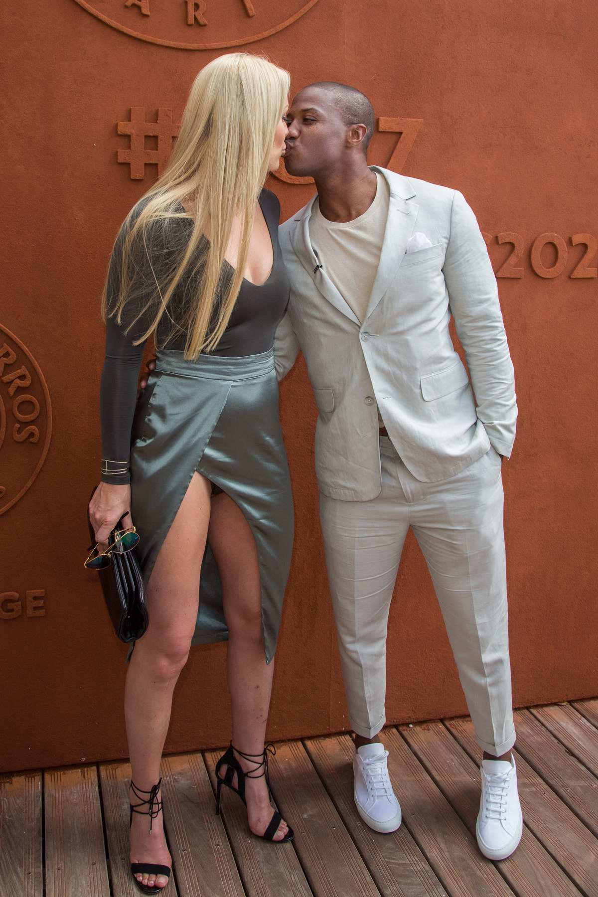 Lindsey Vonn With Her Boyfriend Kanan Smith At The French