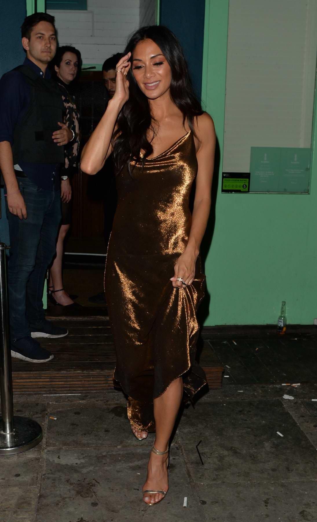 Nicole Scherzinger leaving the Rum Kitchen in London