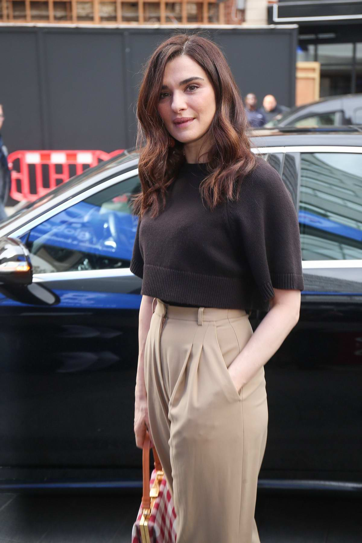 rachel weisz at aol build ldn after promoting her new film ... Alessandra Ambrosio