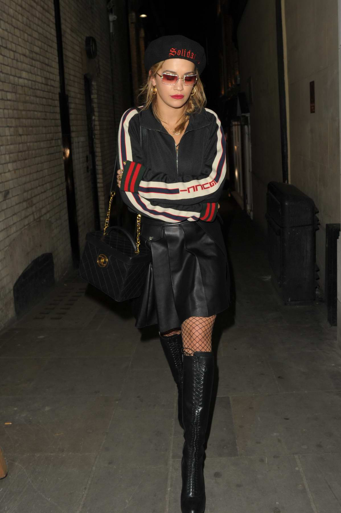 Rita Ora leaves TINGS Magazine Launch Party in London