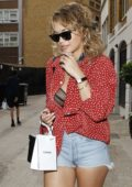 Rita Ora leaving Chanel Store on Bond Street in Mayfair London