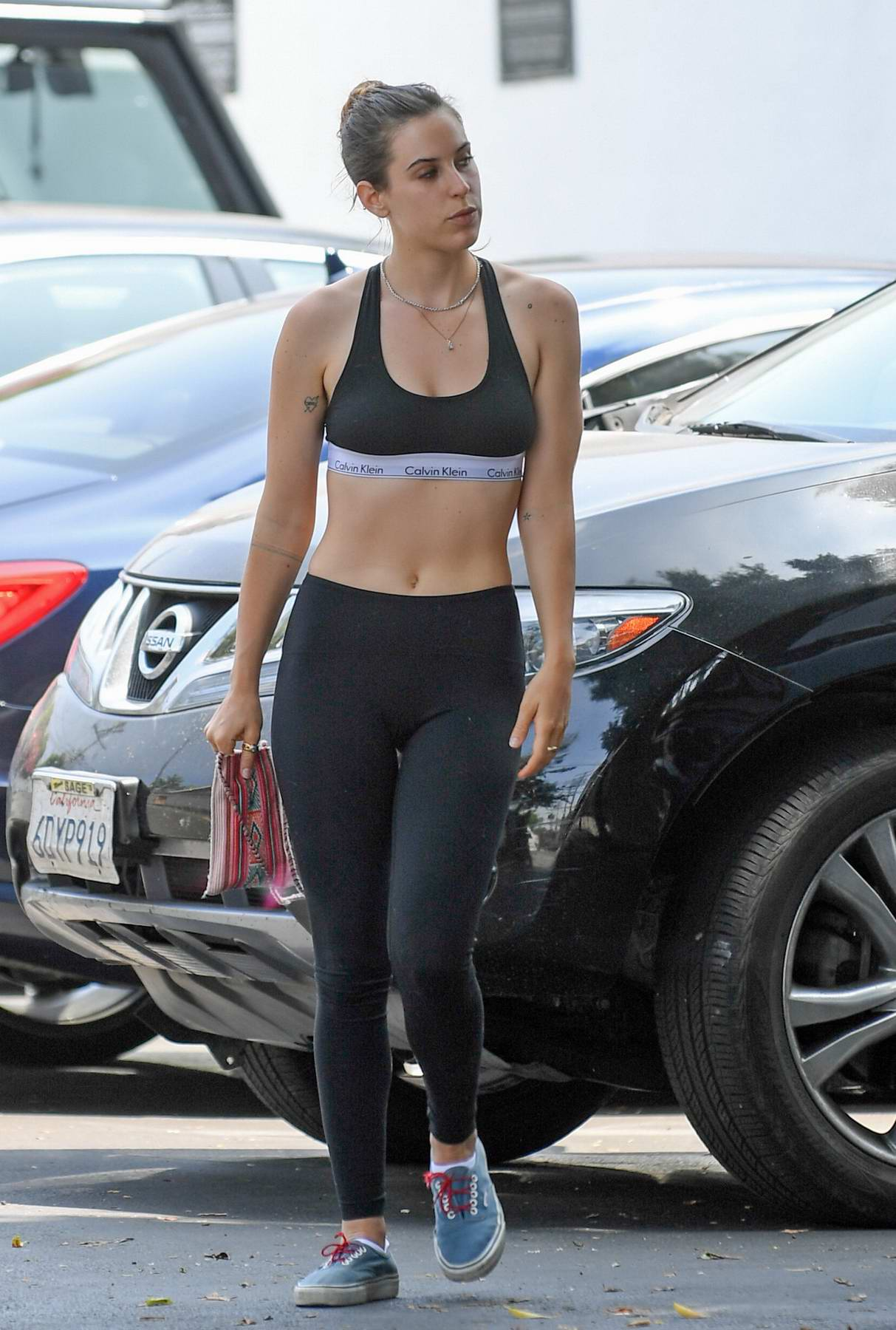 Scout Willis Heading to the Gym in Los Angeles