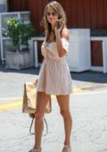 Alessandra Ambrosio out after some shopping in Brentwood, Los Angeles