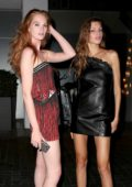 Alexina Graham and Valery Kaufman head out of their Hotel for a Night Out in West Hollywood