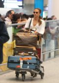 Alicia Vikander arriving at Toronto Pearson International Airport in Toronto, Canada
