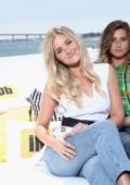 Aly and Amanda Michalka visits IMDBoat at Comic Con International 2017 in San Diego