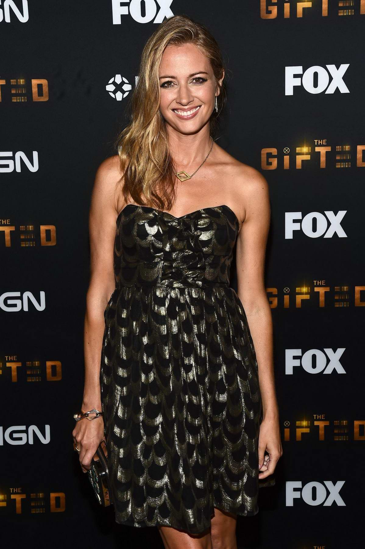 Amy Acker at The Gifted party at Comic Con International 2017 in San Diego