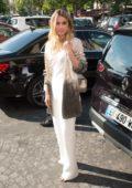 Ana de Armas arriving at the Armani Privé Fashion Show during the Paris Fashion Week in Paris, France