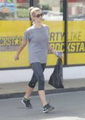 Ashley Greene stops by the Gas Station after her Workout in West Hollywood