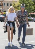Ava Sambora leaving Marmalade Cafe in Calabasas, California