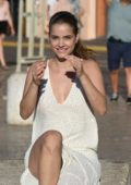 Barbara Palvin on the Set of a Photoshoot at the Port in Saint-Tropez, France - Set 1