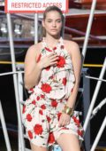 Barbara Palvin on the set of a Photoshoot at the Port in Saint-Tropez, France - Set 3