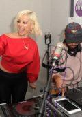 Bebe Rexha at Radio Station Hits 97.3 Live in Hollywood