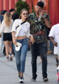 Bella Hadid out with a Friend in New York