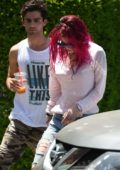 Bella Thorne out for Breakfast with her new boyfriend in Los Angeles