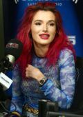 Bella Thorne visits SiriusXM Studios in New York