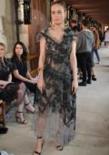 Brie Larson at Rodarte Show during Fall Winter 2017 Haute Couture Fashion Week in Paris, France