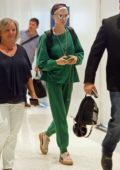 Cara Delevingne arrives at JFK Airport in New York