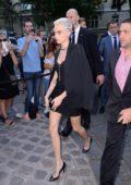 Cara Delevingne at Vogue Party at Musee Galliera at Paris Fashion Week in Paris, France