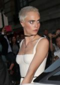 Cara Delevingne Out and About during Haute Couture Fashion Week in Paris, France-030717