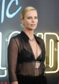 Charlize Theron at the Atomic Blonde premiere in Downtown, Los Angeles
