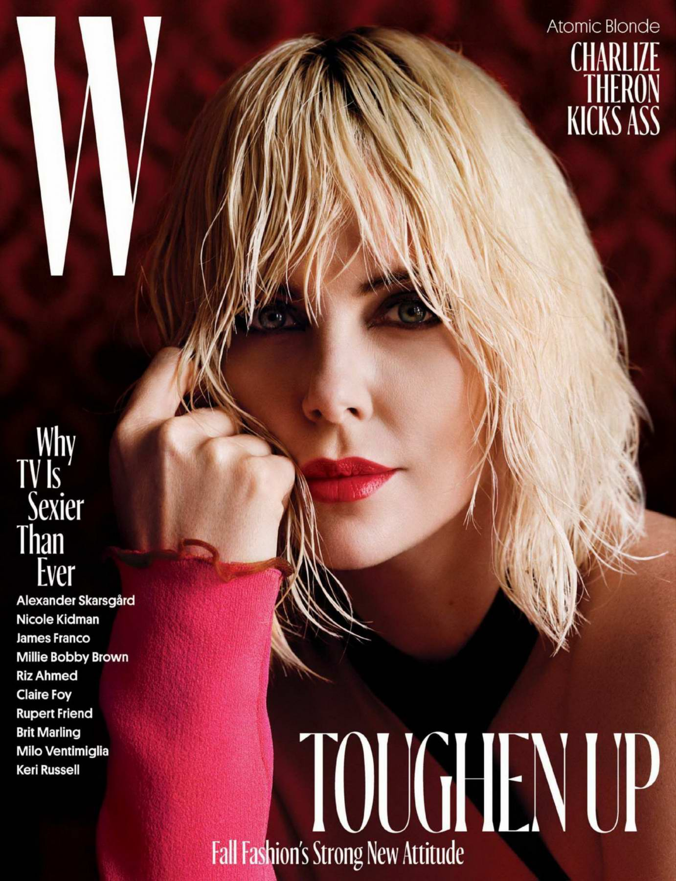 Charlize Theron in W Magazine - August 2017