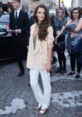 Charlotte Le Bon at Vogue Party at Musee Galliera at Paris Fashion Week in Paris, France