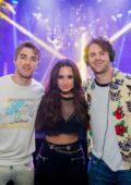 Demi Lovato at XS Nightclub in Las Vegas