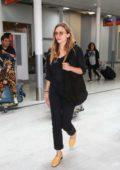Elizabeth Olsen and Boyfriend Robbie Arnett arrives in Paris, France