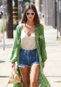 Emily Ratajkowski and Jeff Magdid out for a Stroll through Los Angeles