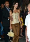 Emily Ratajkowski leaving Club Essex in Hollywood, Los Angeles