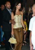 Emily Ratajkowski leaving Club Essex in Hollywood, Los Angeles