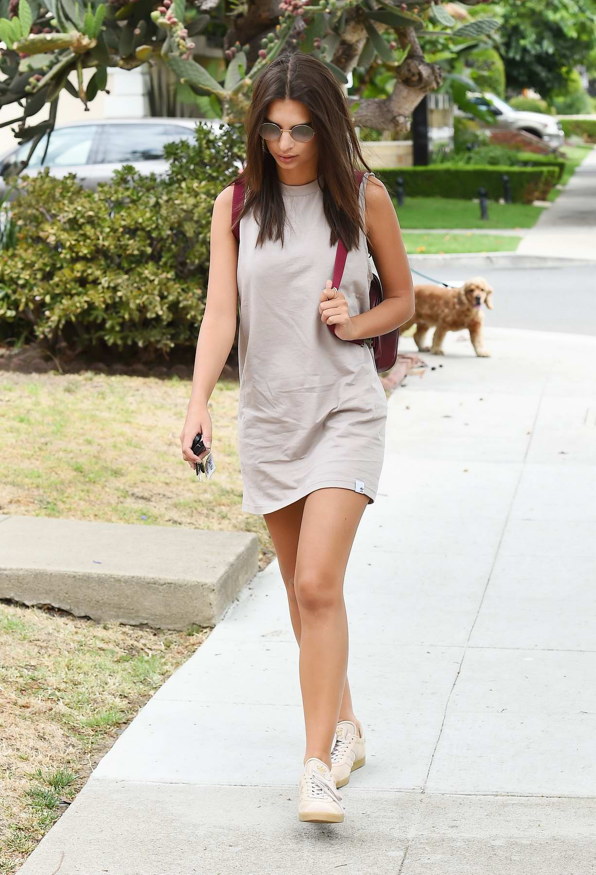 Emily Ratajkowski out and about in Los Angeles