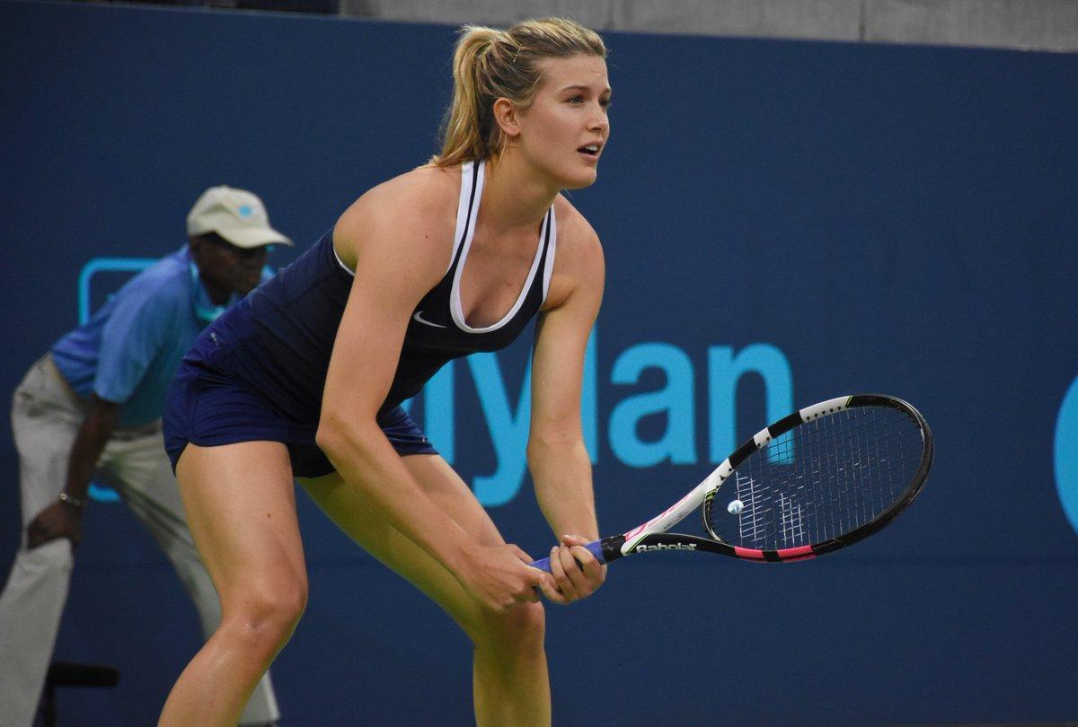 Eugenie Bouchard at World Team Tennis in New York
