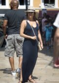 Eva Longoria out for Sightseeing with Family and Friends in Mallorca, Spain