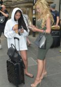 Farrah Abraham and Marnie Simpson arriving at Newcastle Train Station to Film Dating Show Single AF