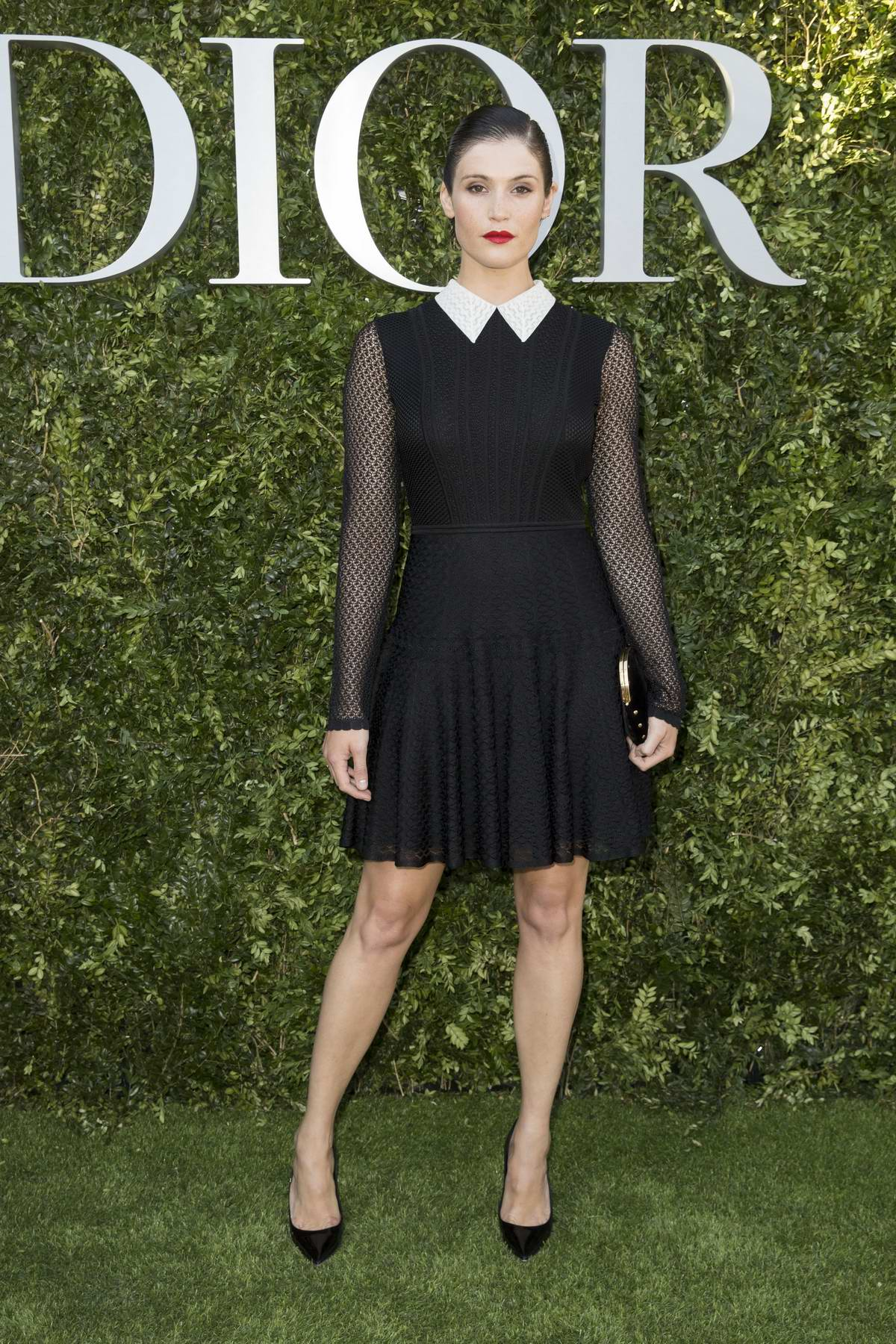 """Gemma Arterton at Christian Dior """"Couturier du Reve"""" Exhibition Launch Celebrating 70 years of Creation in Paris, France"""
