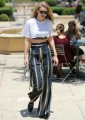 Gigi Hadid out for Lunch and Shopping in Beverly Hills