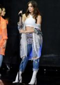 Hailee Steinfeld performing at Today Show Concert Series in New York