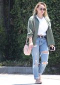 Hilary Duff heading to a Hair Salon in Beverly Hills